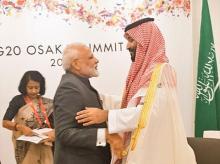 File photo: PM Modi meets Crown Prince of Saudi Arabia Mohammed bin Salman Al Saud
