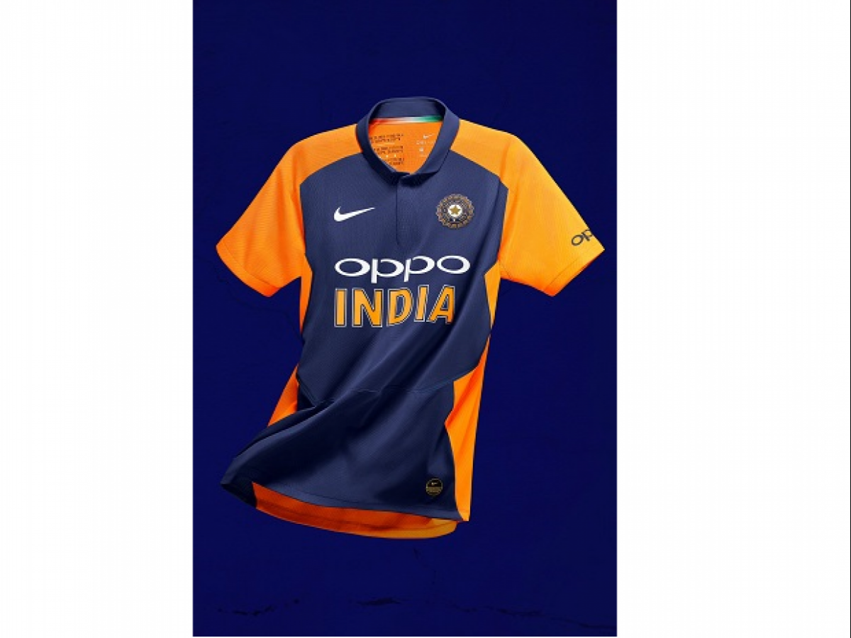 Icc Cricket World Cup 2019 Bcci Reveals India S New Orange