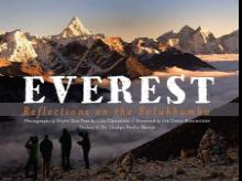 Everest: Reflections on the Solukhumbu Authors: Sujoy Das and  Lisa Choegyal  Publisher: Vajra Books  Pages: 147, Price: Rs 2,250