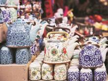Teapot, ethnic merchendise