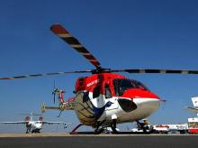HAL's helicopter production line is full for the next three years in building Dhruv ALH for the military