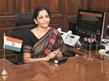Finance Minister Nirmala Sitharaman | File photo