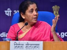 Finance Minister Nirmala Sitharaman Photo- Sanjay K.Sharma