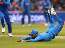 India's Rishabh Pant in action