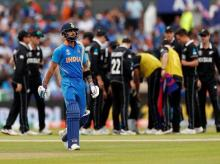 India vs New Zealand semi-final in ICC CWC 2019