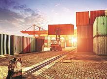 exports, imports, cargo