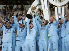 England team wins ICC WC 2019