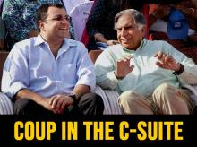 TWO MUCH: Cyrus Mistry and Ratan Tata after the transfer of power. Photo: PTI