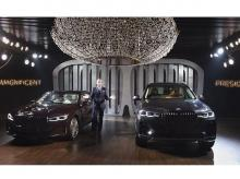 BMW Group India (act.) President Dr. Hans Christian Baertels during the launch of BMW 7 Series and BMW X7, in Gurugram