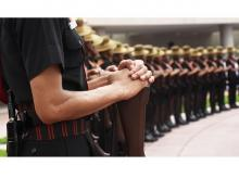 Army personnel pay homage at National War Memorial on the occasion of Kargil Diwas, in New Delhi