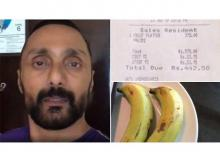 The tale of two overpriced bananas and a shocked Bollywood celebrity