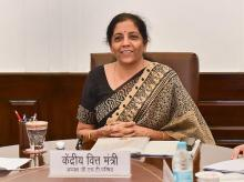 Union Finance Minister Nirmala Sitharaman | Photo: PTI