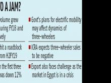 After 2 good years, three-wheeler volumes expected to see negative growth