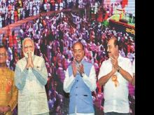 File Photo: Before LS polls, PM Narendra Modi had made a slew of promises to traders at an event in New Delhi. Forming the traders' welfare board was one of them