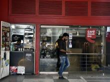 Cafe Coffee Day outlet in Connought Place in New Delhi   Photo - Dalip Kumar