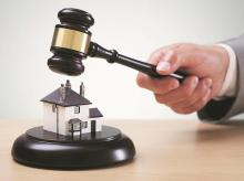 gavel, housing, real estate