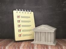 banks, checklist