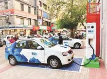electric cars, vehicles