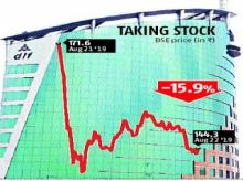 DLF stock falls as tussle with Sebi re-emerges; loses Rs 6,758 cr in m-cap