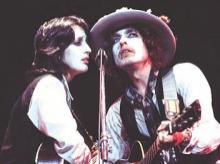 A still from Rolling Thunder Revue