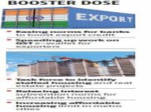 Booster dose: Govt's package for realty sector, exports likely this week