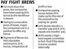 Tea producers and workers prepare to lock horns over bonus payout