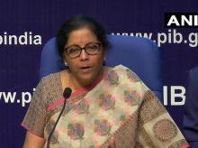 FM Nirmala Sitharaman | Photo: ANI (Twitter)