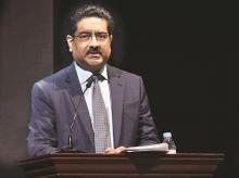 Hindalco Chairman K M Birla says imports of aluminium and copper continue to hurt the domestic industry | Photo: Kamlesh Pednekar