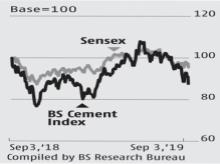 Street cuts FY20 growth estimate as demand woes continue for cement players