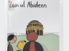 The book features the Booyn, or Chinar, tree that was brought to Kashmir from Iran; the last page is dedicated to Zain ul-Abideen,  the beloved Kashmiri ruler from seven centuries ago