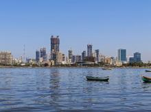 Skyline in Mahalaxmi, Mumbai