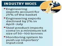 Steel import rules restrictive despite economic slowdown, says EEPC