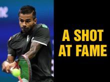 Sumit Nagal, the young player who stared Federer down for an opening set