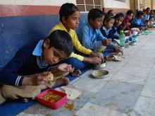 Since 1975, the government has run a supplementary nutrition programme under ICDS