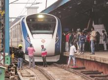 Eighty per cent of Train 18's components are indigenous, and it took just 18 months from conceptualisation to manufacturing, no mean feat in a country where such projects take decades to materialise