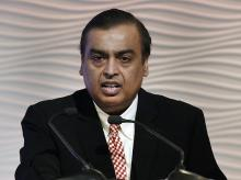 Reliance Industries Chairman Mukesh Ambani at the 40th AGM of the company in Mumbai. (Photo: PTI)