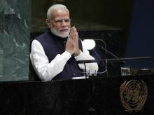 Narendra Modi at United Nations General Assembly