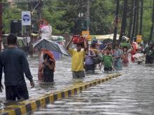 floods, waterlogging