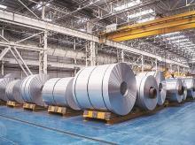 steel plant, steel, steel factory