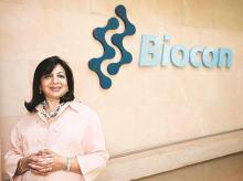 Kiran Mazumdar-Shaw, CMD, Biocon