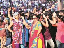 Why does Hindi dominate popular culture, even among the elite? Any dance floor will light up when Bollywood is played and that is a fact