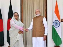 PM Modi, Sheikh Hasina