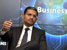 Rajesh Gopinathan, CEO & MD, TCS during a press conference announcing the financial results  Q2  in Mumbai on Thursday  10th Oct, 2019 - KAMLESH PEDNEKAR