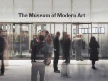 The total gallery space at the MoMA after the expansion is 166,000 square feet