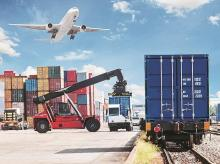 Logistics, trade, global market