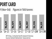 Veg oil imports set to rise 3% in 2019-19 season after dropping last year