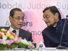 Chief Justice of India Ranjan Gogoi with Justice S A Bobde