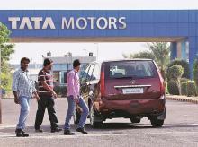 Tata Motors Q2 loss narrows to Rs 217 crore on better JLR performance