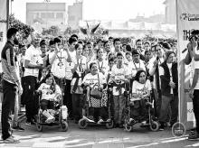 A file photo of Run2Care – Delhi's shortest marathon organised by Those In Need to break the barriers and raise awareness about different forms of disabilities