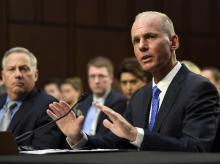 Boeing Company President and Chief Executive Officer Dennis Muilenburg